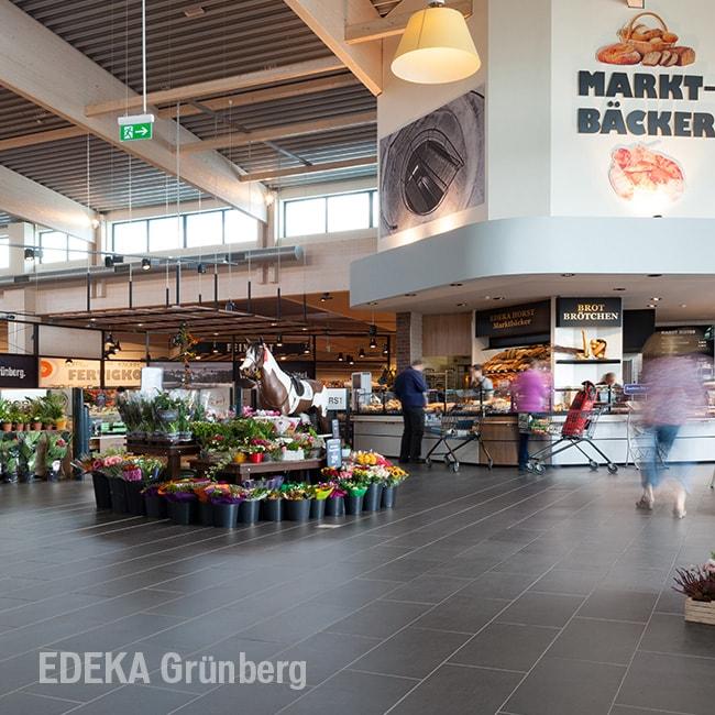 Fliesen von Topgres im Edeka Grünberg
