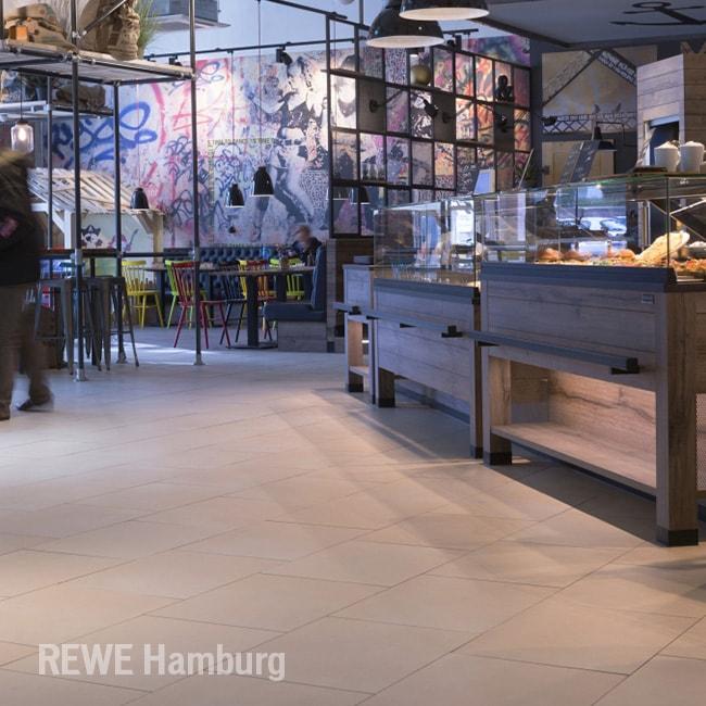 Topgres Referenzen: Rewe Hamburg