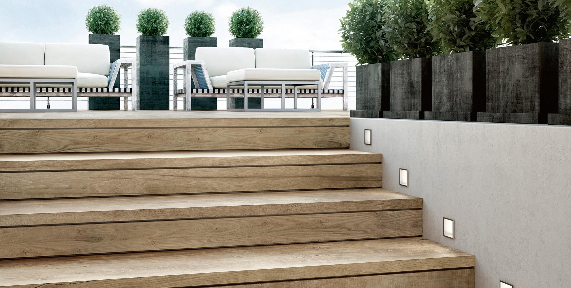 Terrassenplatten aus Feinsteinzeug von Topgres