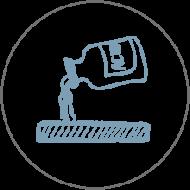 Icon Abrieb- und Säurefest Feinsteinzeugfliesen Topgres