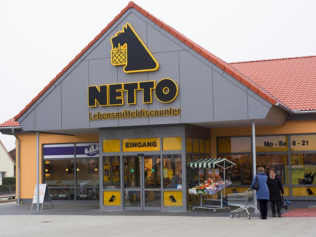 Feinsteinzeugfliesen von Topgres im Netto Stockelsdorf