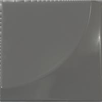 Facilitiles Wall 3D-Fliesen New Dimension Kurve Dunkelgrau Produktbild