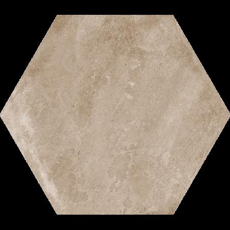 bodenfliesen_hexagon_hellbraun_1