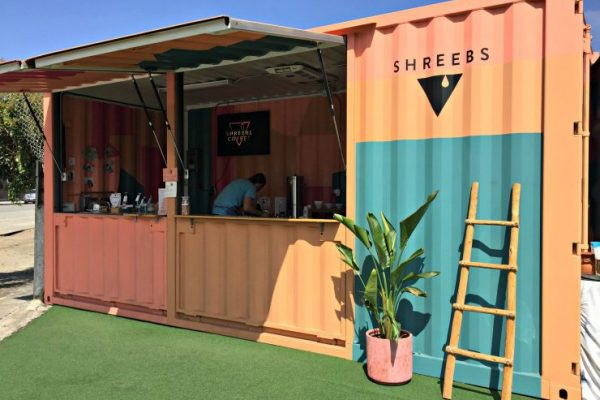 Topgres News: Shreebs Coffee- Pop-Up Coffee Store im Container