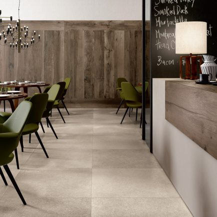 Restaurant Fliesen Topgres Serie Stone Project