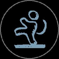 Icon Rutschfestigkeit Topgres Rüttelboden