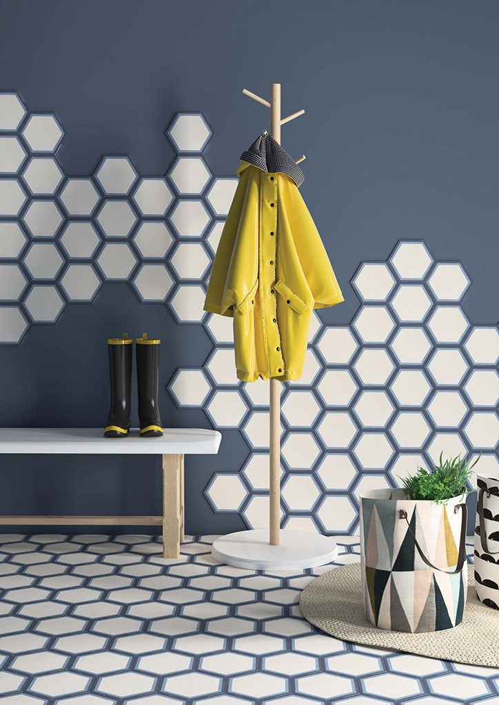 hexagon fliesen aus zement individuell und hochwertig. Black Bedroom Furniture Sets. Home Design Ideas