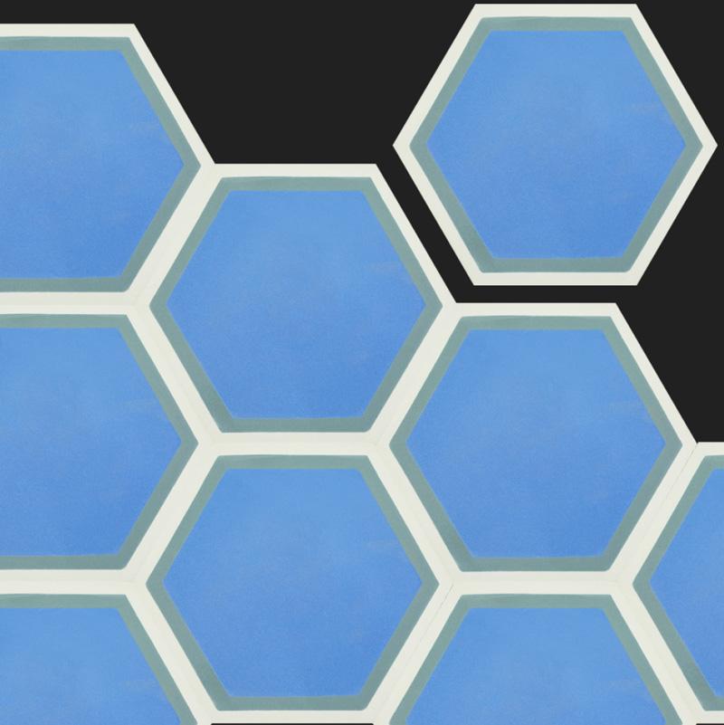 Hexagon fliesen aus zement individuell und hochwertig - Fliesen hexagon ...