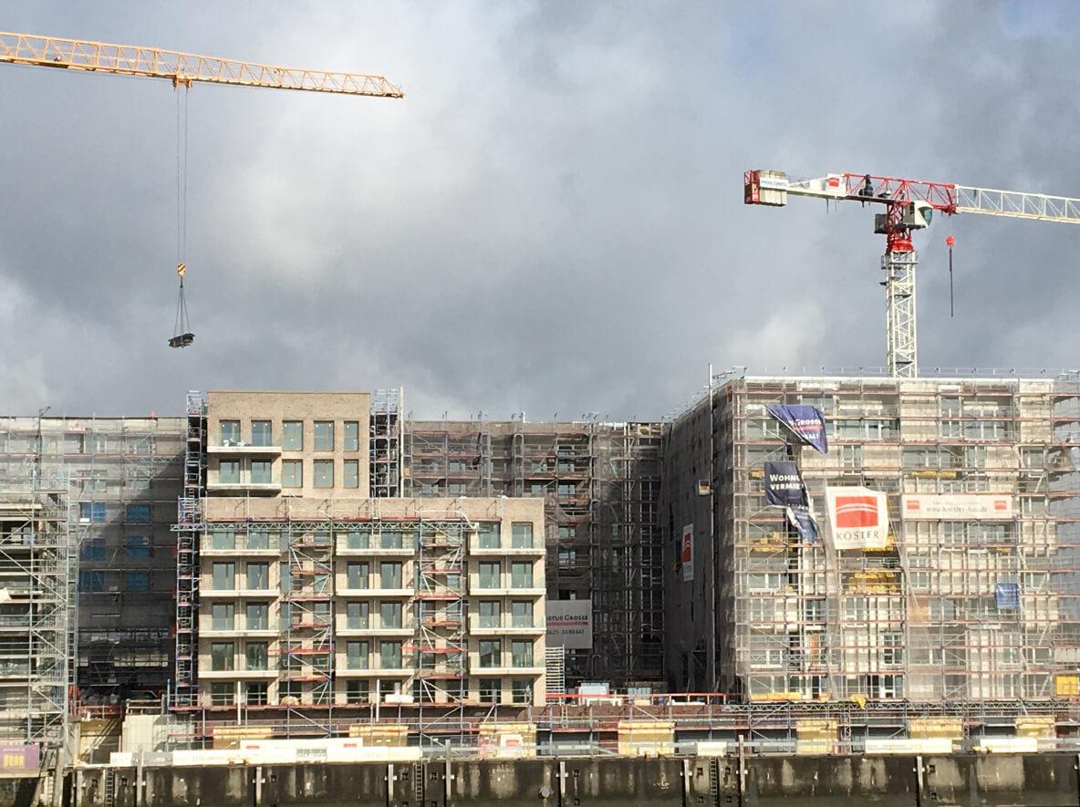 Ansicht Panorama Baakenhöfe in Hamburg:Topgres News
