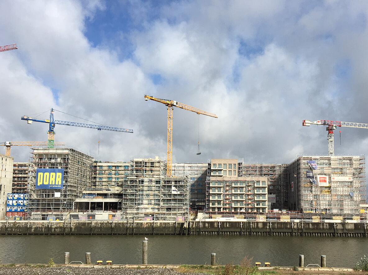 Topgres News: Panorama Baakenhöfe in der HafenCity Hamburg