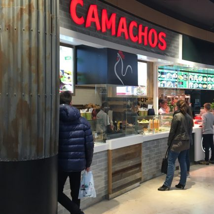 Wandfliesen im Camachos in der Europa-Passage Hamburg