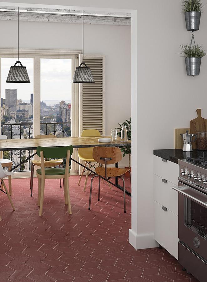 Dekorfliesen für Store Fitting,Gastronomie und Ladenbau