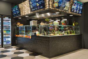 Topgres Referenzen: Wandfliesen im Restaurant Gaumenfreude Bielefeld