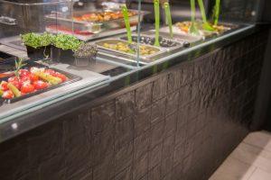 Gastronomie Gewerbeboden und Wandfliesen