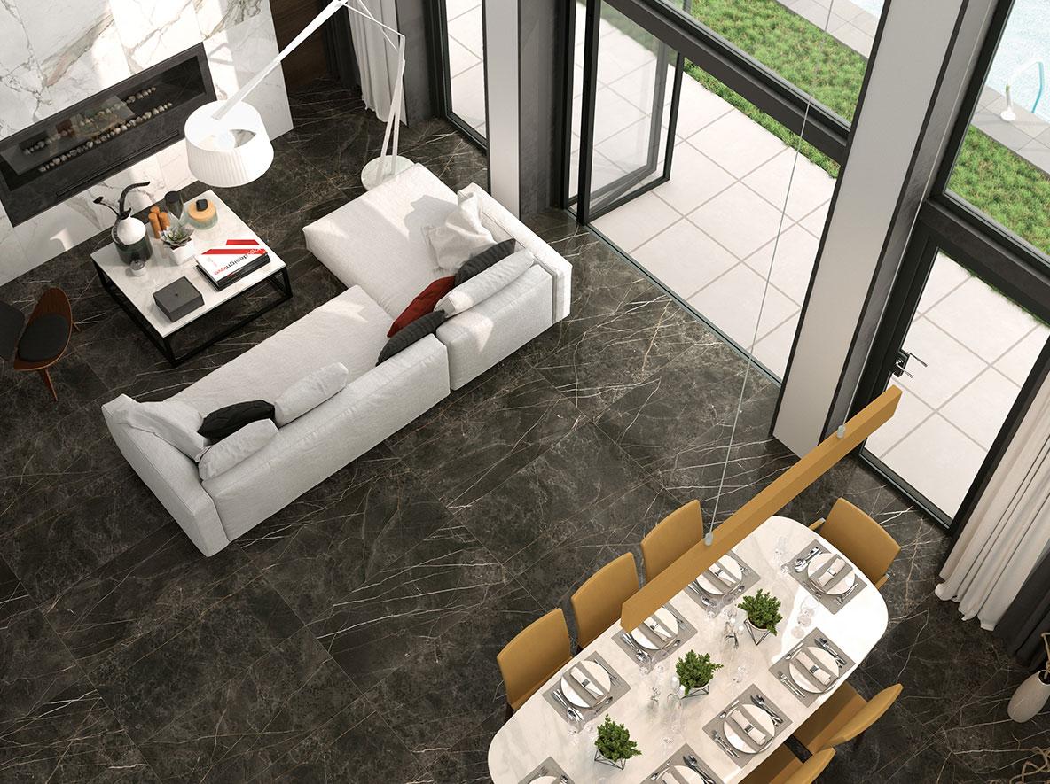 Fliesen Marmoroptik: Für Wohnungsbau, Ladenbau und Gewerbebereiche