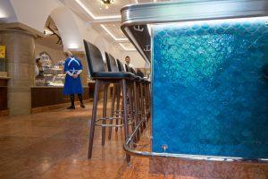Gastronomie Wandfliesen Referenzen: Dallmayr Bar&Grill