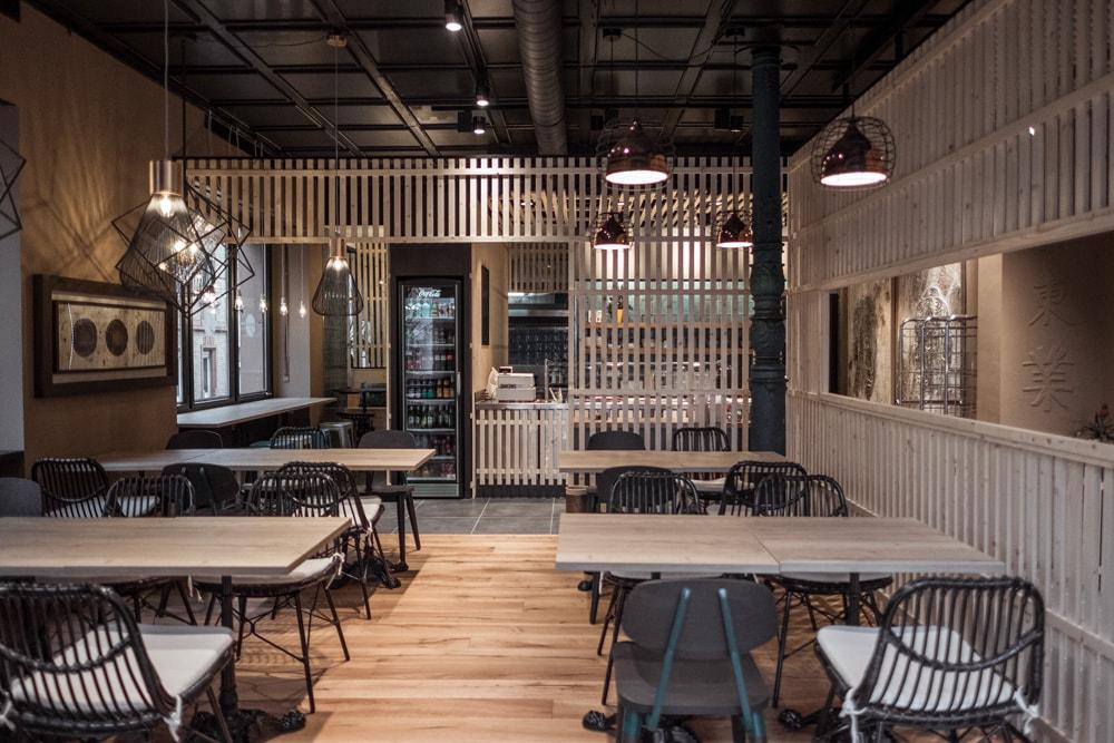 Fliesen für Restaurants: Restaurant Chinatown in Heidelberg