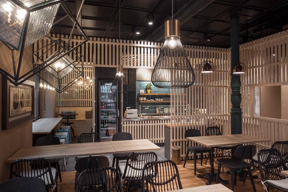 Fliesen für Restaurants: Innenansicht Chinatown Heidelberg