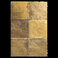 Zellige Fliesen Gold: Kollektion Aurora von Topgres