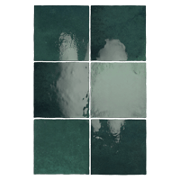 Zellige Fliesen Grün: Kollektion Aurora von Topgres