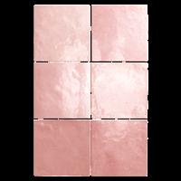 Zellige Fliesen Rosé: Kollektion Aurora von Topgres