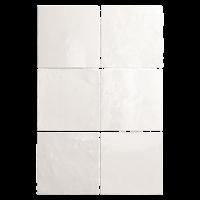 Zellige Fliesen Weiß: Kollektion Aurora von Topgres