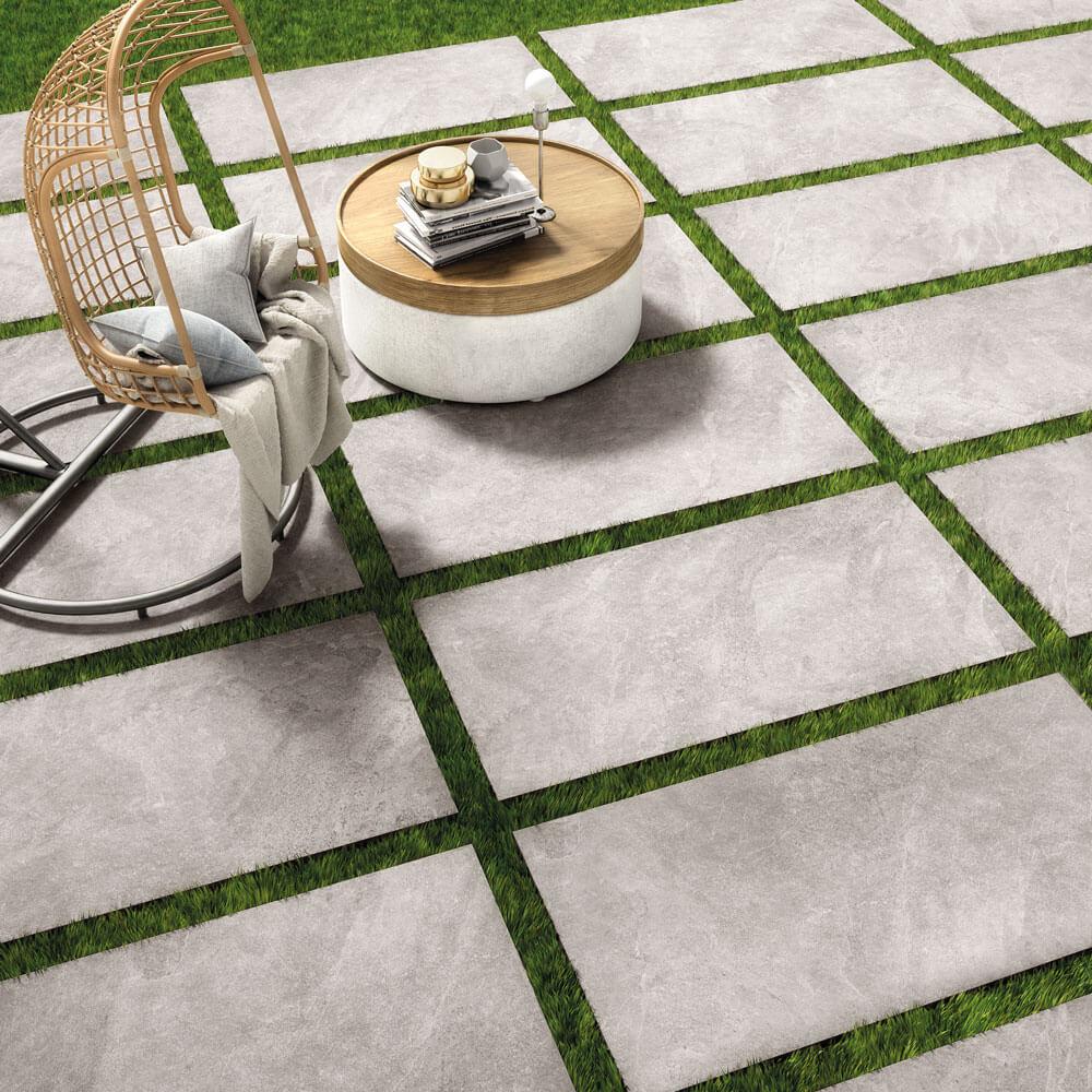 Terrassenplatten Verlegen Feinsteinzeug Fur Alle Aussenbereiche