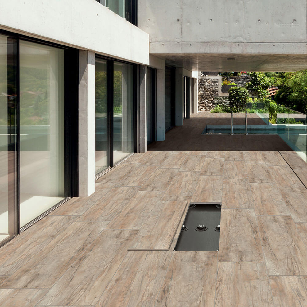 terrassenplatten verlegen | feinsteinzeug für alle außenbereiche
