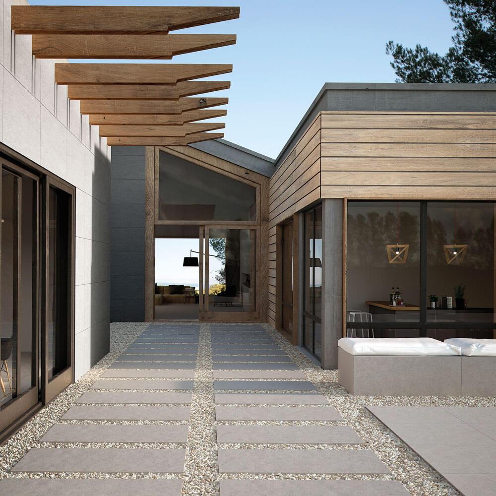 terrassenplatten verlegen feinsteinzeug f r alle au enbereiche. Black Bedroom Furniture Sets. Home Design Ideas