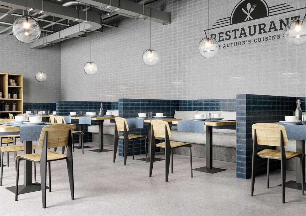 Fliesen mit Muster, wie die Palevu , sehen gut aus in Restaurants