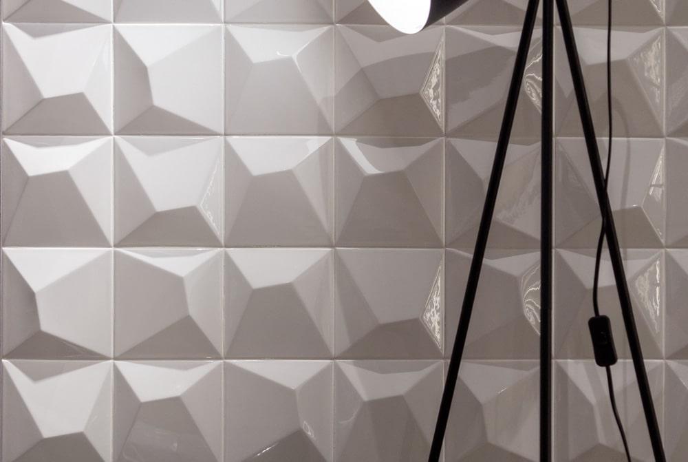 3D Wandfliesen aus der Serie Venture
