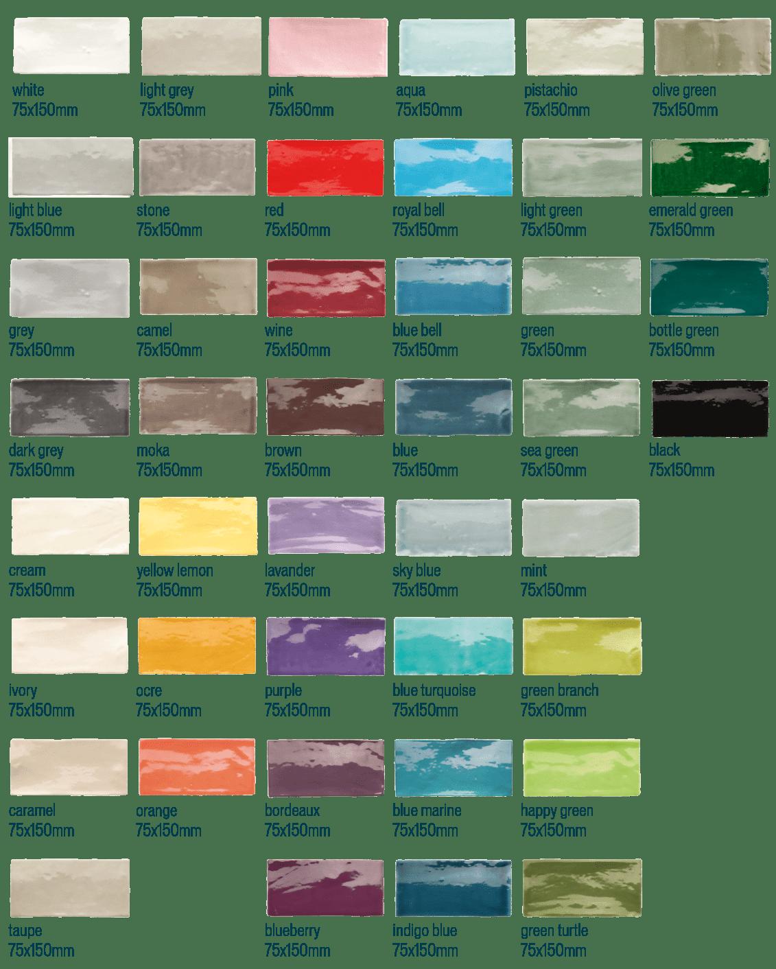 Topgres Fliesen Serie Canvas und Ihre tollen Farben
